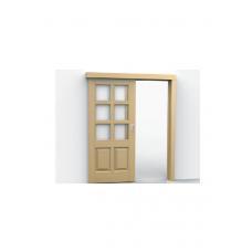 Розсувна система FKM 80-K для міжкімнатних дверей, з демпфером