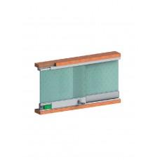 Розсувна система SCK 12 для скляних вітрин