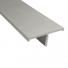 Профіль 5187 Т-обр. 20 мм, нікель, 7.20.107, шт