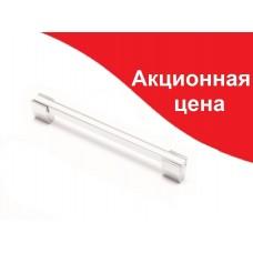 Ручка  MARCA 204-160, хром/білий