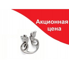 Ручка  MARCA 606-032,  серебро/антик