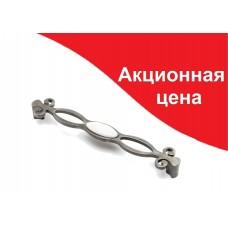 Ручка  MARCA 611-192, срібло-антик/білий