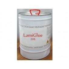 Клей LamiGlue 206 контактный Super Luxe, за 1 литр