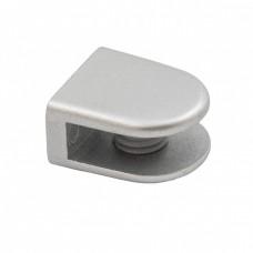 Полкодержатель для стекла код 209 3-8 мм, матовый хром