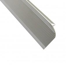 Профиль-заглушка для столешницы 88 мм, 9009, L - 3000 мм, алюминий, шт