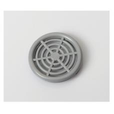 Решітка вентиляційна меблева 0660 d=44 мм, сіра