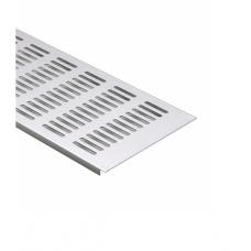 Решітка вентиляційна меблева 500 х 120 х 10 мм, алюміній