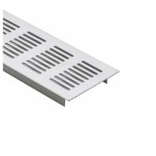 Решітка вентиляційна меблева 500 х 70 х 17 мм, алюміній