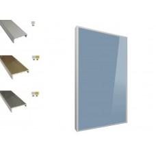 Мебельные фасады в П-образном алюмин. профиле: МДФ 16-19мм, HPL пластик мкв. от