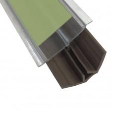 Бортик столешницы 2323 L - 3360 мм, прозрачный