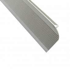 Профиль-заглушка для столешницы 28 мм, 8008, L - 3000 мм, алюминий, шт