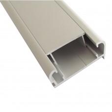 Відбортовка для стільниці 40 мм, L - 3660 мм, алюміній, м