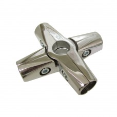 Джокер R-45 для трубы D = 25 мм круговой, хром