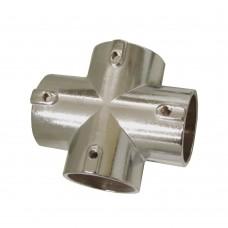 Крестовина 12.096 для трубы d - 25 мм, хром