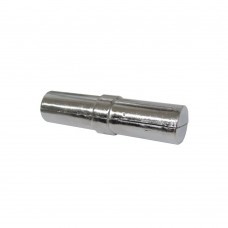 Соединитель  стыковочный  для трубы d - 25 мм, хром