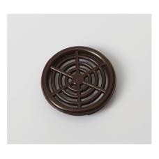 Решітка вентиляційна меблева 0660 d=44 мм, коричнева