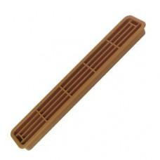 Решітка вентиляційна 30 х 200 пластик коричневий
