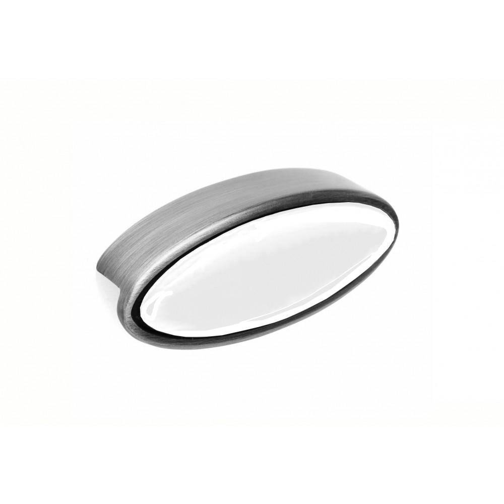 Ручка  MARCA 610-096, срібло-антік/чорний