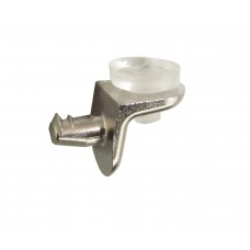 Полкодержатель для стекла с присоской SEKURA 8, никель