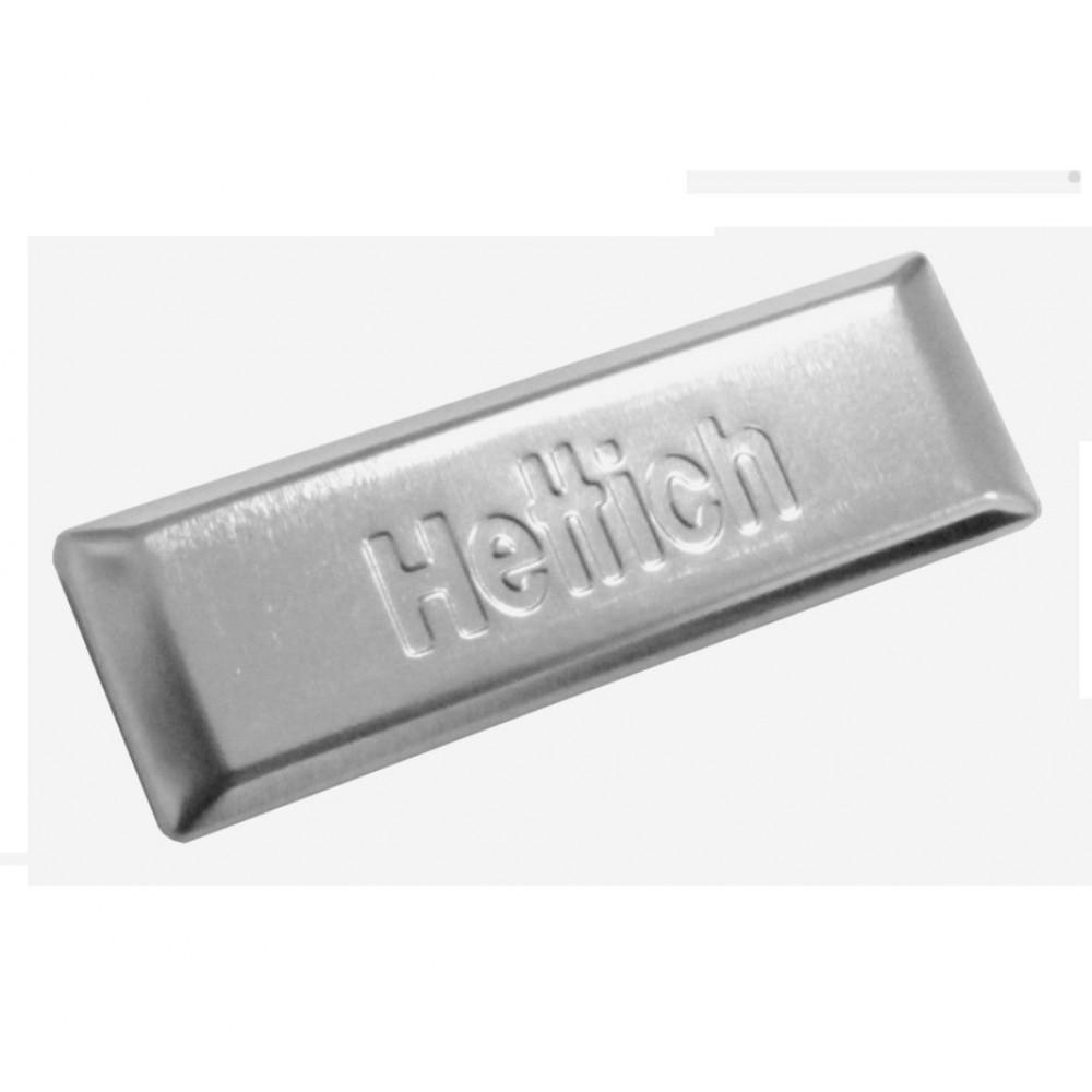Заглушка на корпус завіси INTERMAT з логотипом Hettich