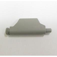 Демпфер с зажимом-адаптером, пластик серый