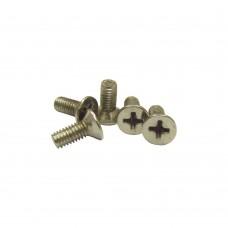 Винт к профилю М 4 х 7 мм, никель, дес