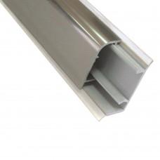 Бортик столешницы 2512 L - 3660 мм mini алюминий